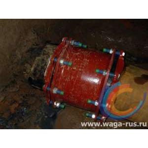 Монтаж муфты WAGA GF в сложных условиях