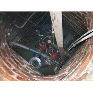 Georg Fischer WAGA: монтаж стальных труб д200 без сварки в стесненных условиях . Врезка в колодце